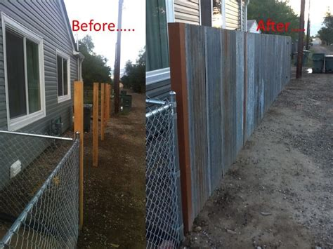 1000 images about fence on corrugated metal