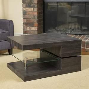 bushwick rectangular rotating wood coffee table gdf studio With rotating wood coffee table