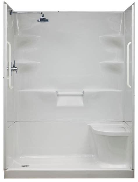 Shower Stalls Canada by Ella Standard 31 Inch X 60 Inch X 77 1 2 Inch Barrier Free