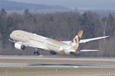 Etihad Airways Boeing 787-900 Dreamliner; A6-BLA@ZRH;06.03 ...