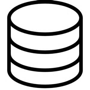 datenbank designer database icon free of ios7 minimal icons