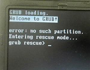 Grub rescue boot windows — when grub is gone, so is the ability