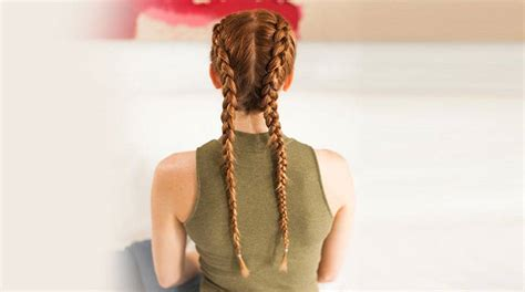 braid hairstyles  short medium long hair garnier