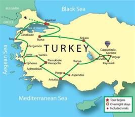 turkey expert tour istanbul troy pergamon ephesus