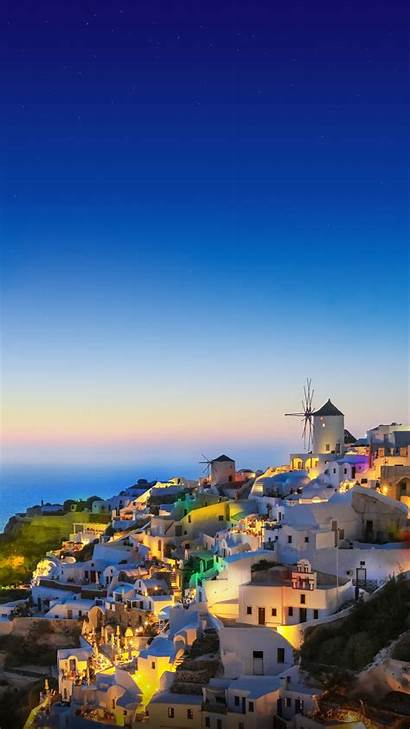 Wallpapers Huawei Android P7 Ascend Santorini Giftcard