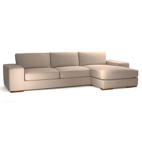 canapé d 39 angle personnalisable fixe 5 places daytona