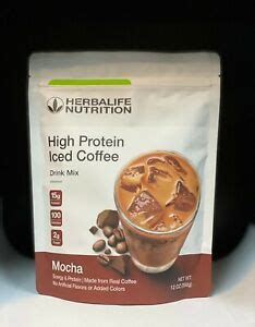 Un modo conveniente per assumere proteine in movimento. HERBALIFE HIGH PROTEIN NUTRITIONAL ICED COFFEE DRINK MIX (MOCHA) 12 OZ   eBay