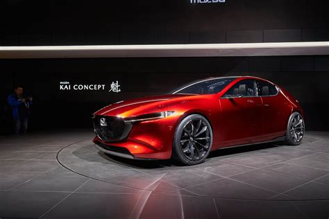 Mazda Kai Concept Previews 2019 Mazda 3 Photos