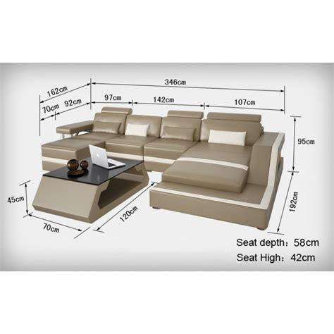 dimensions canapé superior canape demi lune 11 canape d angle en cuir