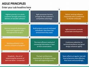Agile Principles Powerpoint Template