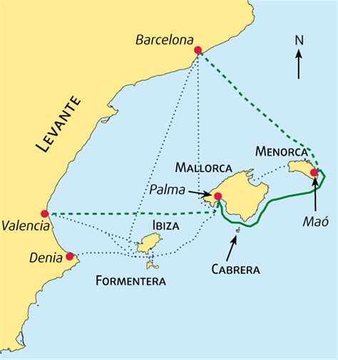 Boat Transport To Spain by Valencia To Barcelona By Ferry Via Mallorca And Menorca