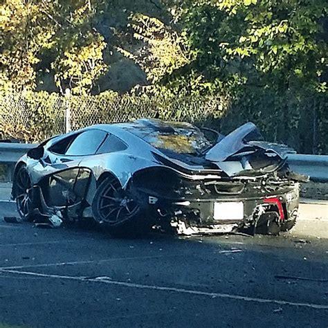Man Buys A 163 1 Million 2015 Mclaren P1 Car And Crashes It
