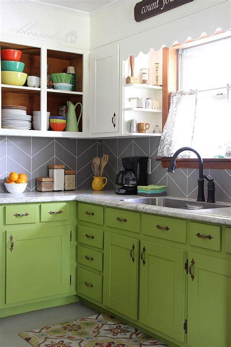 easy backsplash for kitchen diy herringbone tile backsplash
