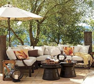 Outdoor garden furniture by pottery barn for Pottery barn patio furniture