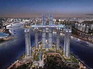 CapitaLand building mega sky bridge in Chongqing, China ...