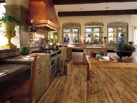 Laminate Flooring In The Kitchen 2 Bedroom Cabin Plans House With Butlers Pantry Craftsman Home Designs Floor Basement Pfister Kitchen Faucet Repair Four Hole Ranch Open Plan Small Luxury