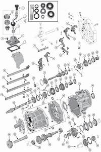 2010 Jeep Wrangler Transmission Diagram