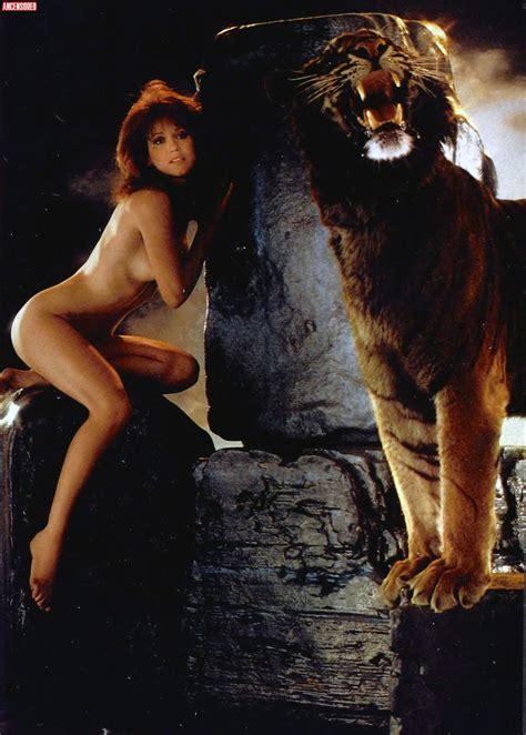 Naked Tanya Roberts In Playboy Magazine