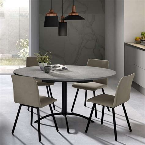 table de cuisine extensible table de cuisine ronde en stratifié extensible laser 4