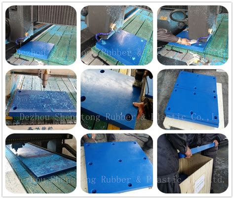 Boat Dock Pads by Plastic Boat Ship Floating Dock Uhmwpe Fender Pad For Sale