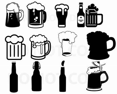 Beer Mug Svg Cricut Bundle Birra Silhouette