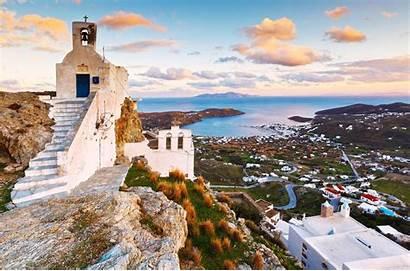 Serifos Island Greece Greeka Chora Milangonda Capital