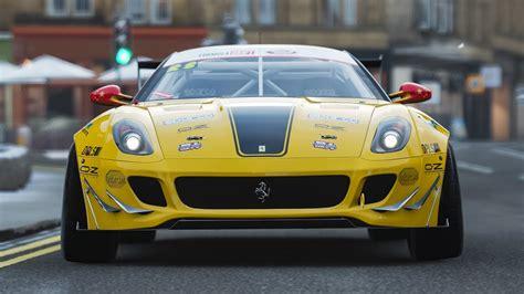 "1 ford escort mk1 1967 no. FD Ferrari 599 GTB ""Fiorella"" drifting through Edinburgh on FH4 - YouTube"