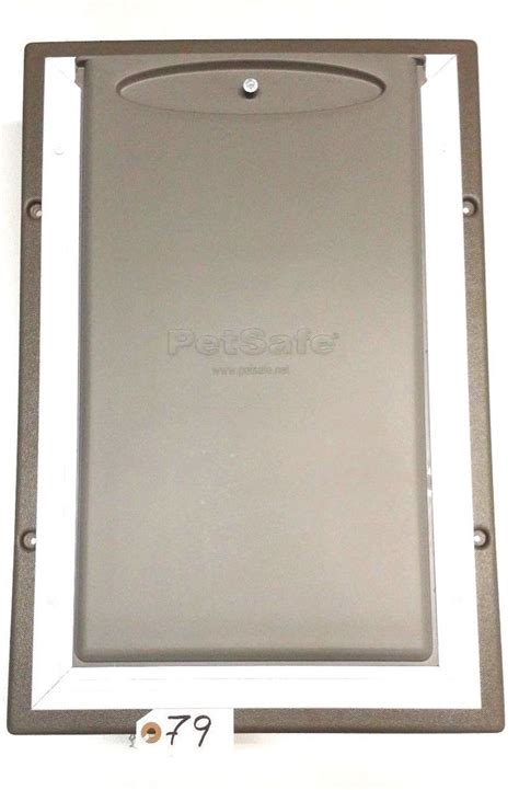 petsafe large door petsafe telescopic aluminium wall entry pet door large ebay