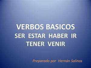 10 Completar Con Los VERBOS BASICOS |authorSTREAM