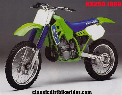 Kawasaki Kx250 198089 Spotters Guide