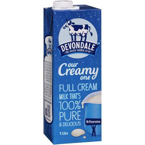 Devondale Full Cream UHT Milk 1L (Our creamy one) Long ...
