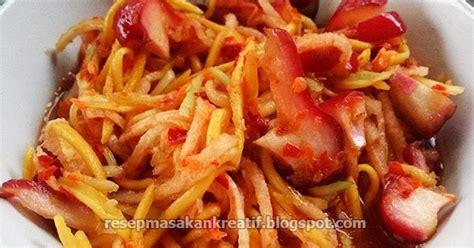 Resep rujak serut pedas dan segar lestariweb Resep Rujak Serut Mangga Muda Kuah Segar Plus Jambu & Bengkoang - Aneka Resep Masakan Sederhana ...