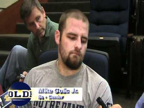2011 Football Video: Mike Golic Jr., November 8 - YouTube