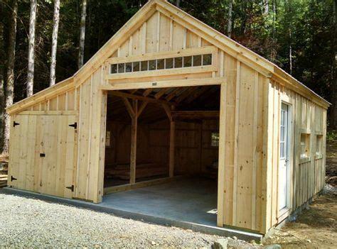 bay garage building  shed shed plans shed