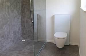 Beton Cire Dusche : beton wall floor dusche toilette wohndesign beton statt fliesen betonoptik betonoptik ~ Sanjose-hotels-ca.com Haus und Dekorationen