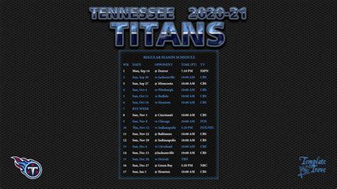 tennessee titans wallpaper schedule