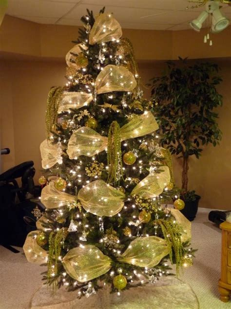 gorgeous pre lit christmas trees  spaces traditional