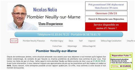 plombier neuilly sur marne pas cher 30 devis