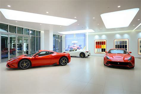 A New Ferrari Dealership Moves In Under A Woodlands