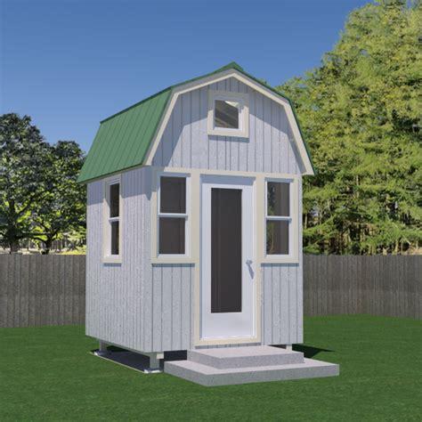 gambrel house plans micro gambrel plans
