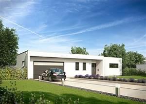 Haus Bungalow Modern : bungalow purea im bauhausstil kern haus ~ Markanthonyermac.com Haus und Dekorationen