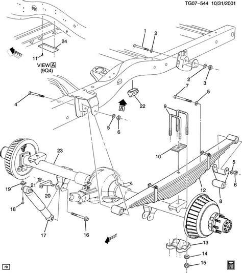 Chevy Front End Part Diagram by 2000 Chevy Silverado 1500 Rear Axle Diagram