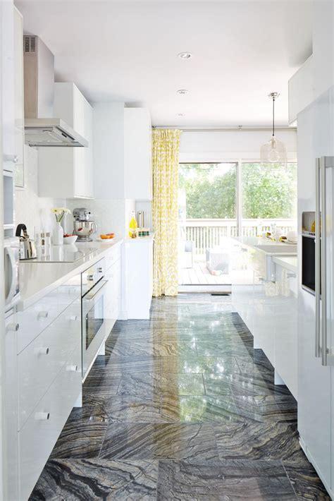 gorgeous white galley kitchen  sarah sees potential hgtv