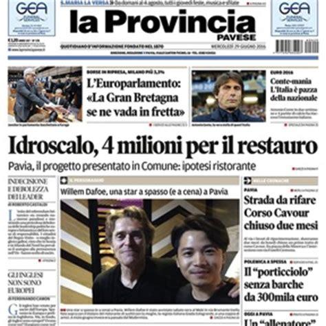 la provincia pavese pavia scioperano i giornalisti de la provincia pavese