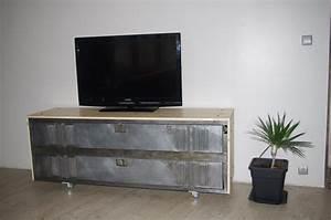 Meuble Tv En Hauteur : exceptional meuble tv en hauteur 4 ~ Teatrodelosmanantiales.com Idées de Décoration