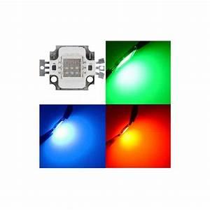 12v 10w Led : 10w rgb led high power chip red green blue 12v 10 watt lamp led diy direct voltage ~ Frokenaadalensverden.com Haus und Dekorationen