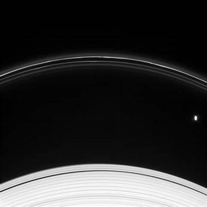 Saturn Moons Ii Rings Dialogue Prometheus Influence