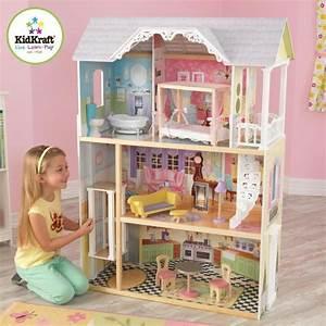 kidkraft maison de poupees en bois kaylee achat With beautiful modele de maison en l 8 image maison de barbie