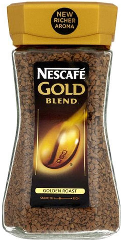 Smooth arabica coffee and a velvety layer of coffee crema blend for a small cup that's big in flavour. Nescafe Gold Blend Coffee 100G | Coffee | Nescafe Coffee | Instant Coffee