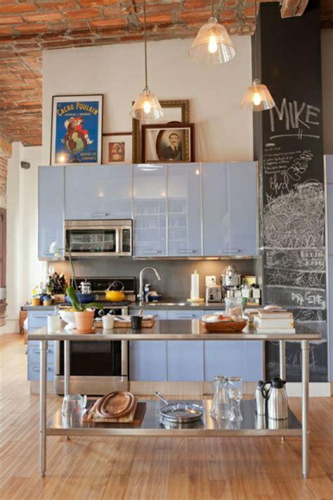 cuisine en bleu cuisine sol bleu images